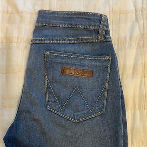 Wrangler flare leg jeans